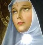 Sainte Rita religieuse italienne canonisée a fait des miracles avec sa priere de guerison